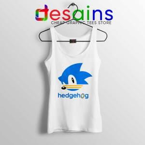 Hedgehog Sonic Tank Top Sonic the Hedgehog Tops Size S-3XL
