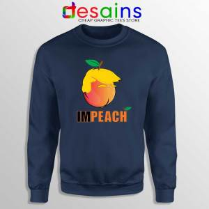 ImPEACH the Trump Navy Sweatshirt Donald Trump Sweater S-3XL