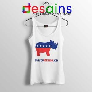 Rhino Party Logo Tank Top Rhinoceros Party Tank Tops S-3XL