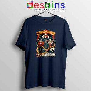 Sanderson Sisters Navy Tshirt Hocus Pocus Tee Shirts GILDAN S-3XL