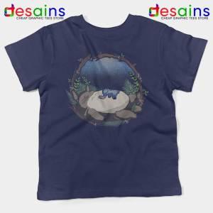 Sleep My Neighbor Totoro Kids Tshirt Studio Ghibli Youth Tee Shirts