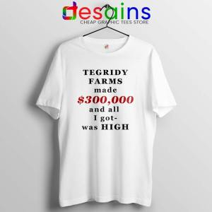 South Park Tegridy Farms Tshirt Made $300,000 and all i got was HIGH
