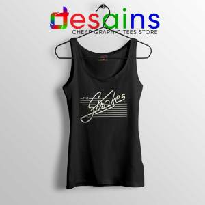 The Strokes Rock Band Tank Top Music Merch Tops Size S-3XL