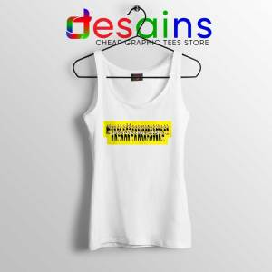 Tigers Together 2019 White Tank Top Richmond FC Tops Size S-3XL