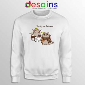 Twenty One Pusheens Sweatshirt Twenty One Pilots Sweater S-3XL