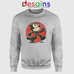 Felix the Cat Vintage Sweatshirt Cartoon Characte Sweater S-3XL