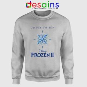 Frozen 2 Soundtrack Sport Grey Sweatshirt Disney Movies Frozen 2 Sweater