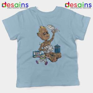 Groot And Galaxy Toys Kids Tshirt Tardis Star Wars Toy Story Youth Tees