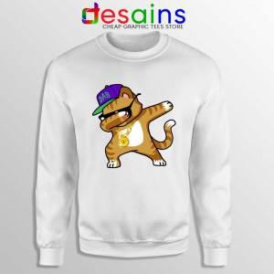 Hip Hop Dabbing Cat Sweatshirt Funny Kitten Dance Sweater