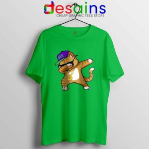 Hip Hop Dabbing Cat Tshirt Funny Kitten Dance Tee Shirts S-3XL