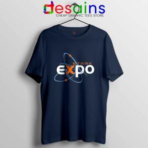 Iron Man Expo Navy Tshirt The Stark Expo Tee Shirts S-3XL