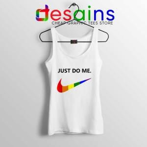 Just Do Me Pride Rainbow Tank Top LGBT Tank Tops S-3XL