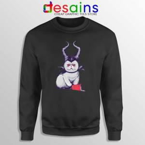 Meow Maleficent Black Sweatshirt Meowleficent Mistress of Evil Sweater