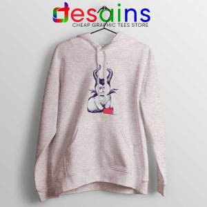 Meow Maleficent Sport Grey Hoodie Meowleficent Mistress of Evil