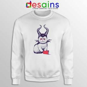 Meow Maleficent Sweatshirt Meowleficent Mistress of Evil Sweater S-3XL
