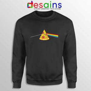 Pink Floyd Pizza Sweatshirt Dark Side of the Pizza Sweater S-3XL