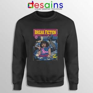 Pulp Fiction Freddie Mercury Sweatshirt Break Fiction Sweater S-3XL