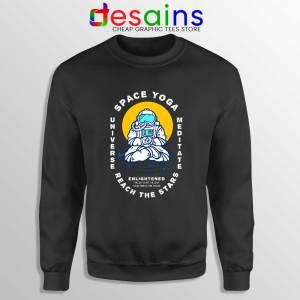 Space Yoga Universe Meditate Sweatshirt Yoga Lover Sweater S-3XL
