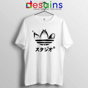 Studio Ghibli Adidas Tshirt My Neighbor Totoro Tee Shirts S-3XL