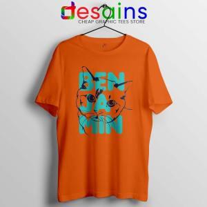 Taylor Swift Cradles Cat Orange Tshirt Benjamin Button Tee Shirts