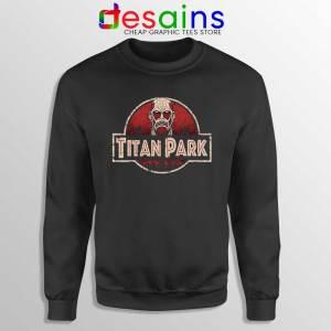 Titan Park Sweatshirt Jurassic Park Attack on Titan Sweater S-3XL