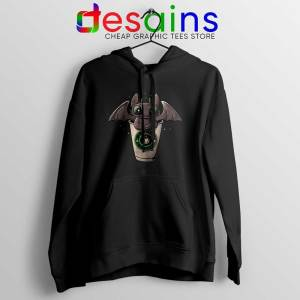 Toothless Dragon Coffee Hoodie How to Train Your Dragon Hoodies S-2XL