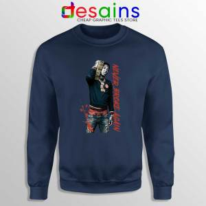 Youngboy NBA Never Broke Again Navy Sweatshirt Youngboy Sweater