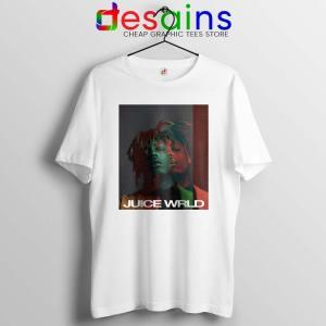 Juice Wrld Art Poster White Tshirt American Rapper Tee Shirts S-3XL