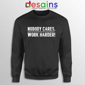 Nobody Cares Work Harder Sweatshirt Lamar Jackson Sweater S-3XL