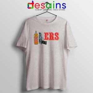 40/9 ERS 40oz 9mm Sport Grey Tshirt San Francisco 49ers Tees