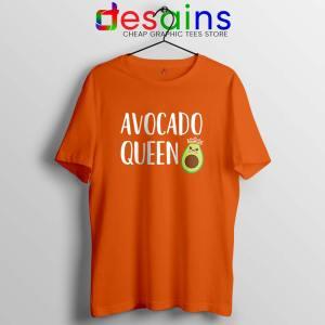 Avocado Queen Tshirt Girls Funny Avocado Tee Shirts S-3XL