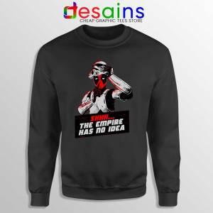 Deadpool Stormtrooper Helmet Black Sweatshirt Star Wars Funny
