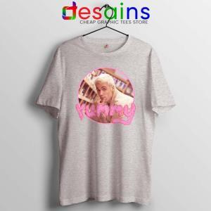 Justin Bieber Yummy Sport Grey Tshirt Yummy Song Tee Shirts