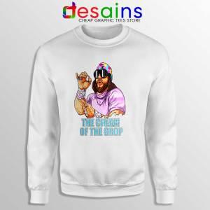 Randy Savage Macho Man White Sweatshirt Randy Savage Sweaters