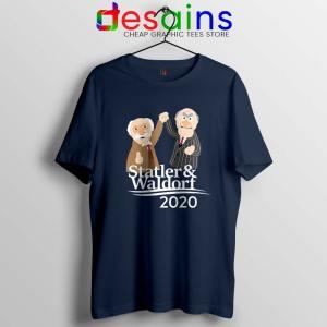 Statler and Waldorf 2020 Navy Tshirt Muppet Tee Shirts