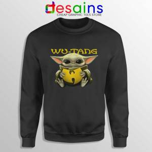 Wu Tang Clan Baby Yoda Sweatshirt The Child Sweater S-3XL