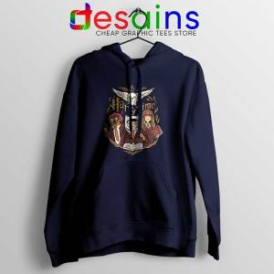 Harry Potter Adventure Time Navy Hoodie Harry Time Jacket
