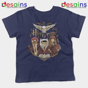 Harry Potter Adventure Time Navy Kids Tshirt Harry Time Youth Tees
