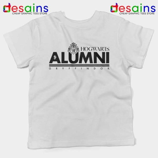 Hogwarts Alumni Gryffindor Kids Tshirt Harry Potter Youth Tees S-XL