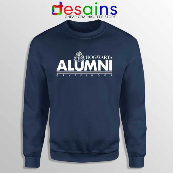 Hogwarts Alumni Gryffindor Navy Sweatshirt Harry Potter Sweaters