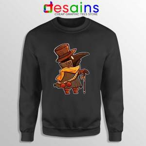 Mask Plague Doctor Sweatshirt Medical Physician Sweaters S-3XL