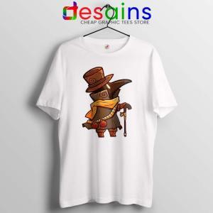 Mask Plague Doctor White Tshirt Medical Physician Tee Shirts S-3XL