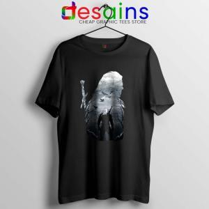 Wild Hunt The Witcher Tshirt Netflix Witcher Geralt Tee Shirts S-3XL