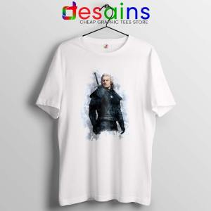 Witcher Geralt of Rivia Tshirt The Witcher Netflix Tee Shirts S-3XL