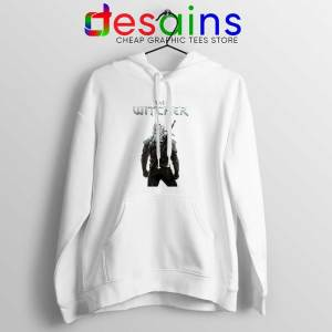 Witcher Monster Hunter White Hoodie Merch The Witcher Hoodies