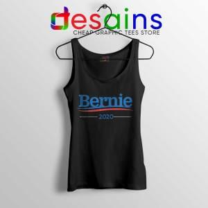 Bernie Sanders 2020 Campaign Black Tank Top Democratic Tops