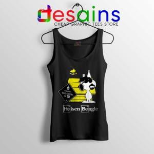 Heisenberg Snoopy Beagle Black Tank Top Breaking Bad Snoopy Tops