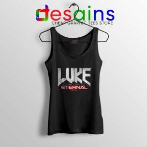 Luke Eternal Black Tank Top For God so loved the World Tops