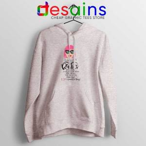 Moira Rose Breast Cancer Sport Grey Hoodie Schitt's Creek Sitcom Jacket