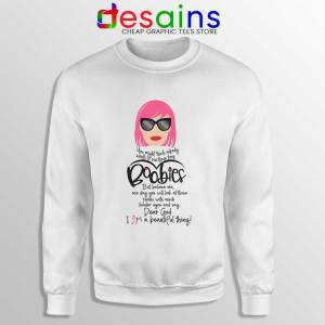 Moira Rose Breast Cancer Sweatshirt Schitt's Creek Sitcom Sweaters